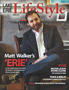 Lake Erie Lifestyle Magazine Cover with Matt Walker